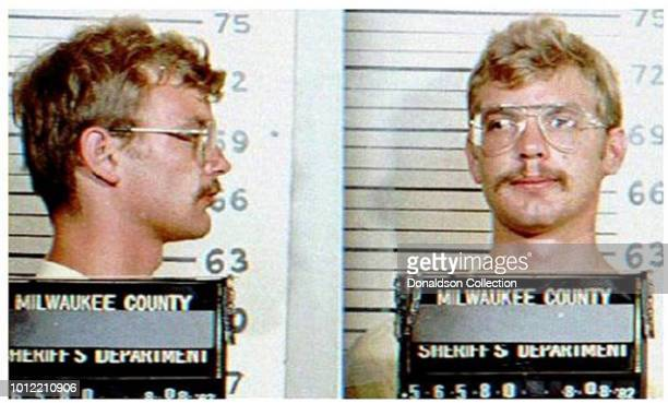 Jeffrey Dahmer mughsot in August 1982