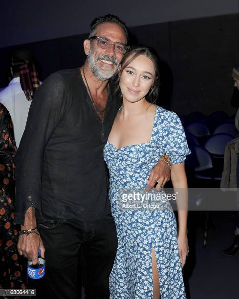 Jeffrey Dean Morgan and Alycia DebnamCurry attend the Fear The Walking Dead Panel during 2019 ComicCon International at San Diego Convention Center...