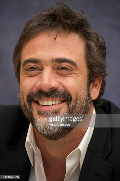 "Jeffrey Dean Morgan at the ""Watchmen"" press conference at the Beverly Hilton Hotel on February 19, 2009 in Beverly Hills, California."