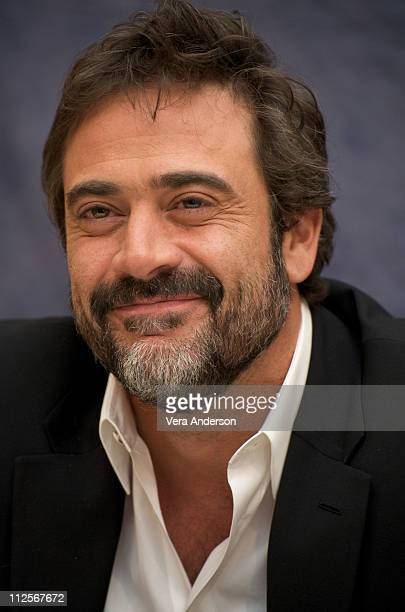 """Jeffrey Dean Morgan at the """"Watchmen"""" press conference at the Beverly Hilton Hotel on February 19, 2009 in Beverly Hills, California."""