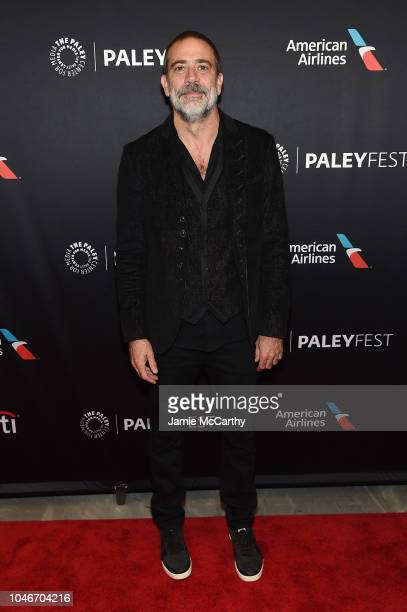 Jeffrey Dean Morgan attends PaleyFest NY: The Walking Dead screening and panel at The Paley Center For Media on October 6, 2018 in New York City.