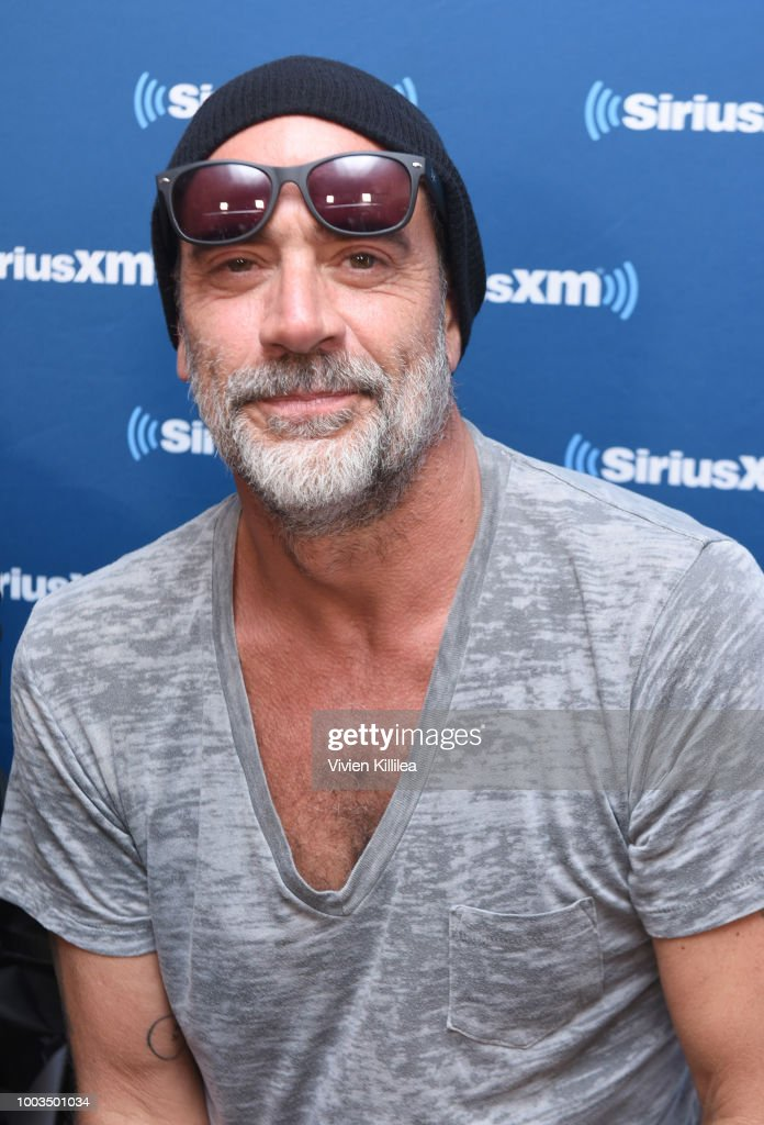 Jeffrey Dean Morgan attends SiriusXM's Entertainment Weekly Radio Broadcasts Live From Comic Con in San Diego at Hard Rock Hotel San Diego on July 20, 2018 in San Diego, California.