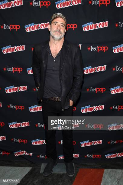 Jeffrey Dean Morgan attends the Comic Con The Walking Dead panel at The Theater at Madison Square Garden on October 7 2017 in New York City