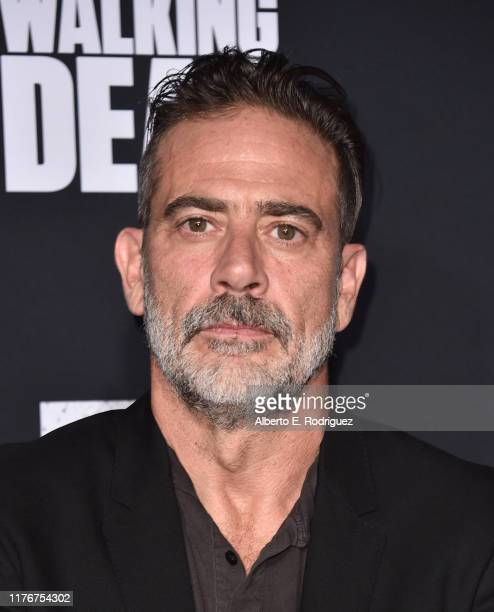 "Jeffrey Dean Morgan attends the Season 10 Special Screening of AMC's ""The Walking Dead"" at Chinese 6 Theater– Hollywood on September 23, 2019 in..."