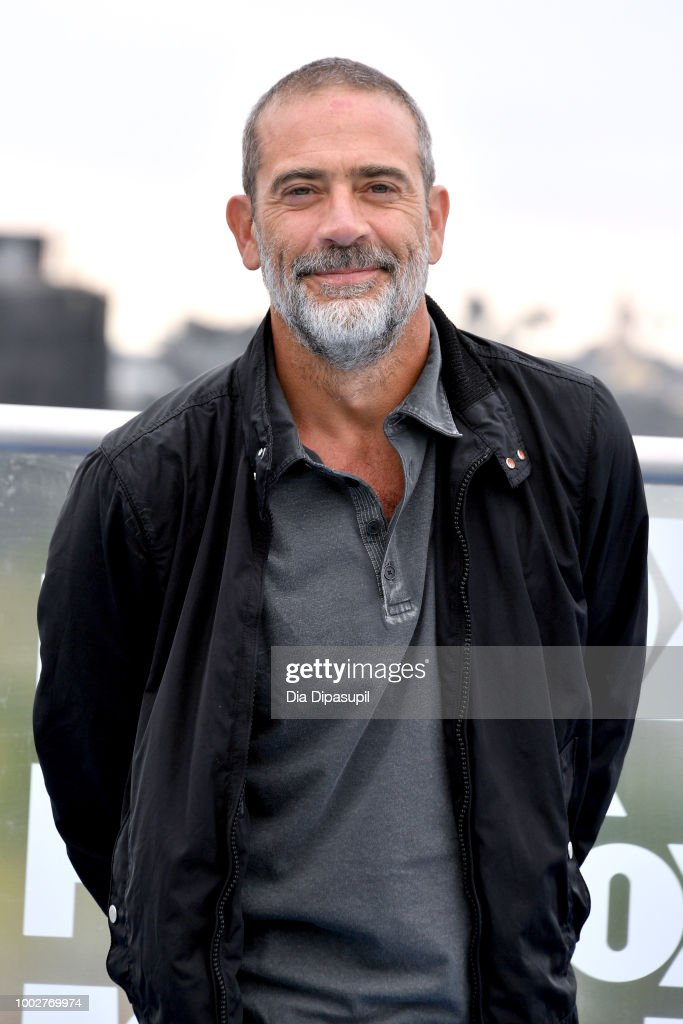 Jeffrey Dean Morgan attends 'The Walking Dead' Photo Call during Comic-Con International 2018 at Andaz San Diego on July 20, 2018 in San Diego, California.