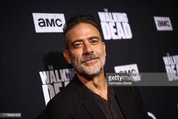 Jeffrey Dean Morgan attends The Walking Dead Premiere and Party on September 23, 2019 in West Hollywood, California.