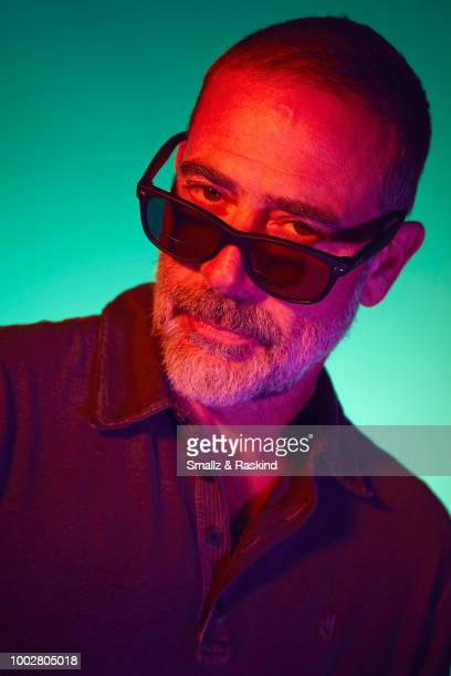 Jeffrey Dean Morgan from AMC Networks 'The Walking Dead' poses for a portrait at the Getty Images Portrait Studio powered by Pizza Hut at San Diego...