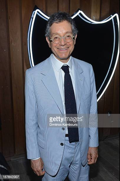 Jeffrey Deitch attends the celebration of Dom Perignon Luminous Rose at Wall at W Hotel on December 6 2012 in Miami Beach Florida