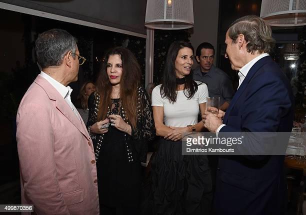 Jeffrey Deitch Lori Redkin Joyce Barbados and Simon de Pury attend Aby Rosen and Samantha Boardman Host Their Annual Dinner at The Dutch W Hotel...