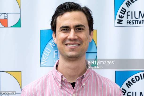 Jeffrey Deitrich attend the 9th Annual New Media Film Festival at James Bridges Theater on June 16 2018 in Los Angeles California