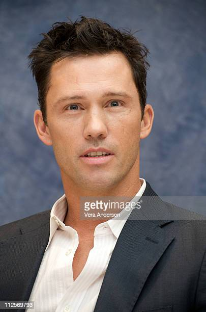 Jeffrey Donovan at the Burn Notice press conference at the Four Seasons Hotel on October 1 2009 in Beverly Hills California