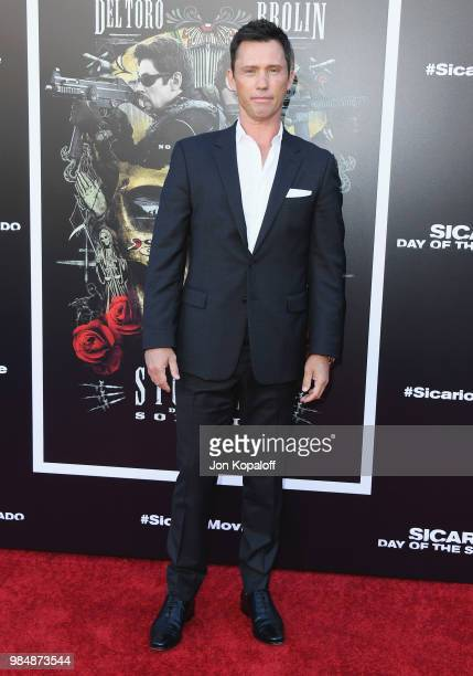 Jeffrey Donovan attends Columbia Pictures' Sicario Day Of The Soldado Premiere at Westwood Regency Theater on June 26 2018 in Los Angeles California