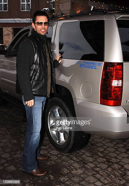 Jeffrey Donovan with Chevy Tahoe during 2006 Park City General Moters in Park City Jeffrey Donovan in Park City Utah United States