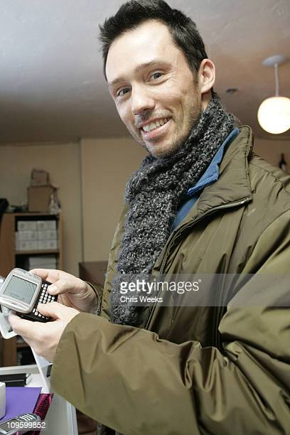 Jeffrey Donovan with The Tmobile MDA during 2006 Park City The Loft featuring TMobile Klipsch and Hudson Day 1 at 427 Main Street in Park City Utah...