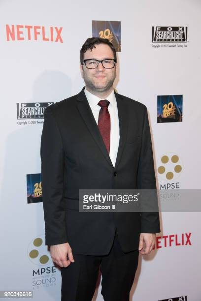 Jeffrey Dyal attends the 65th Annual Motion Picture Sound Editors Golden Reel Awards on February 18 2018 in Los Angeles California
