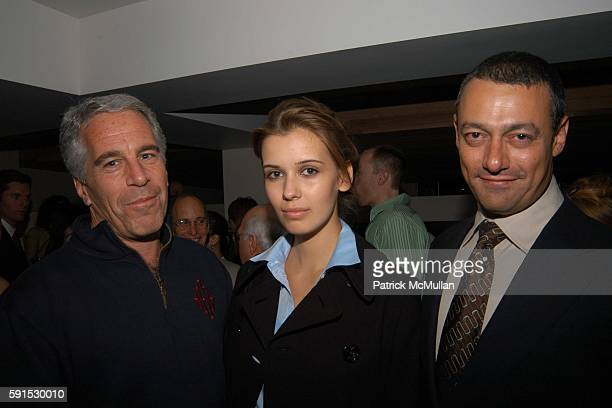 Jeffrey Epstein Adriana and Maer Roshan attend Launch of RADAR MAGAZINE at Hotel QT on May 18 2005