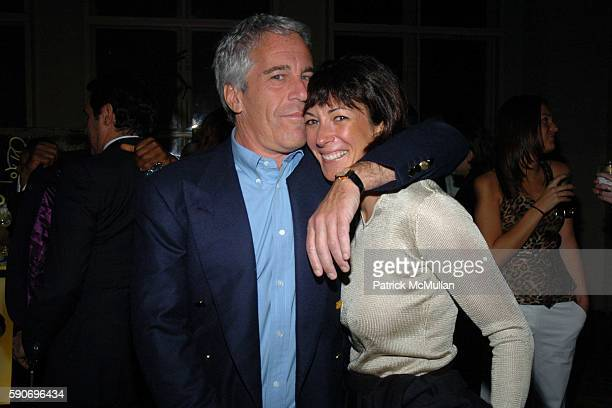 Jeffrey Epstein and Ghislaine Maxwell attend de Grisogono Sponsors The 2005 Wall Street Concert Series Benefitting Wall Street Rising, with a...