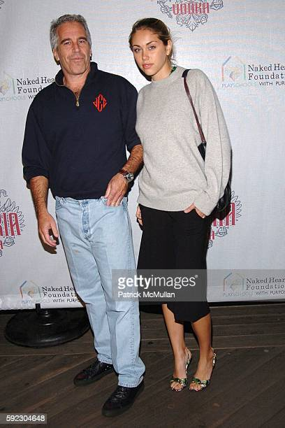 Jeffrey Epstein attends IMPERIA US LAUNCH PARTY AT THE STATUE OF LIBERTY at Liberty Island on September 7 2005 in New York City
