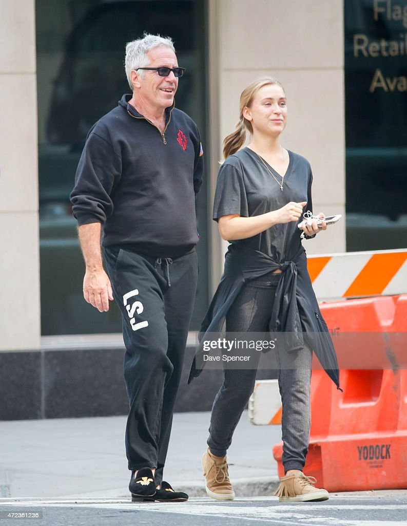 Jeffrey Epstein Sighting In New York City - May 5, 2015 : ニュース写真