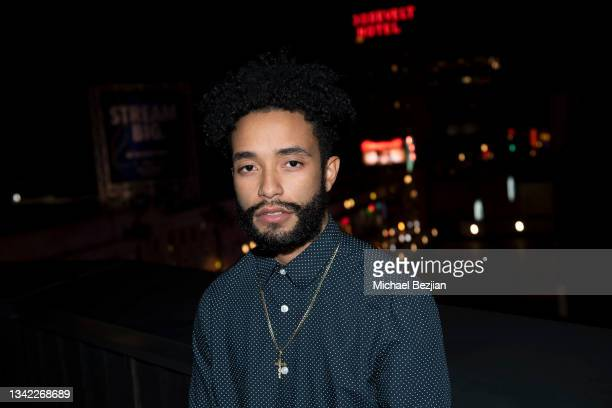 Jeffrey Figuereo arrives at 17th Annual Oscar-Qualifying HollyShorts Film Festival Opening Night at Japan House Los Angeles on September 23, 2021 in...