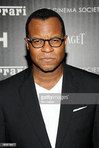 Jeffrey Fletcher attends the Ferrari The Cinema Society screening of 'Rush' at Chelsea Clearview Cinemas on September 18 2013 in New York City