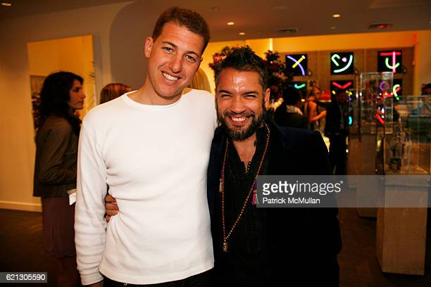 Jeffrey Goldstein and Carlos Mota attend SVEDKA presents CARLOS SOUZA's Most Wanted Design Jewelry Collection Hosted by Carlos Mota at BLUE CREAM at...