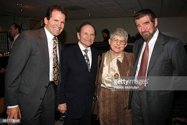 Jeffrey Gould Norman Gould Jeanette Gould and Burt Manning attend A Centennial Celebration for Harold Arlen at The Museum of Television and Radio on...