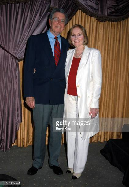 Jeffrey Hayden and Eva Marie Saint during Eva Marie Saint and Jeffrey Hayden Perform Love Letters to Benefit the Local Epilepsy Foundation at The...