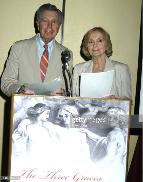 Jeffrey Hayden and Eva Marie Saint during Eva Marie Saint Presents Awards at the Three Graces Women and Epilepsy Conference in Los Angeles California...