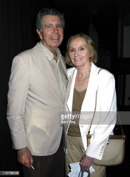 Jeffrey Hayden and Eva Marie Saint during Fences Play Opening at the Odyssey Theatre June 10 2006 at The Odyssey Theatre in Los Angeles CA United...