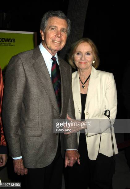 Jeffrey Hayden and Eva Marie Saint during Sideways Los Angeles Premiere Arrivals at Academy of Motion Pictures Arts and Sciences in Beverly Hills...