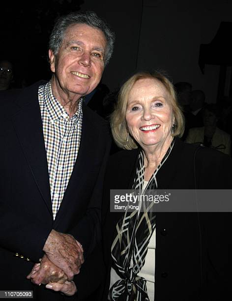Jeffrey Hayden and Eva Marie Saint during Venice Magazine Presents Oscar Wilde's Salome Opening Night at Wadsworth Theatre in Los Angeles California...