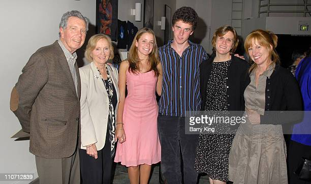 Jeffrey Hayden Eva Marie Saint and family during Jeffrey Hayden Directs Eugene O'Neill's Desire Under The Elms Opening Night Inside at Odyssey...