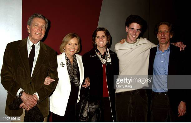 Jeffrey Hayden Eva Marie Saint daughter Laurette Hayden grandson Eli Beller and Miles Beller