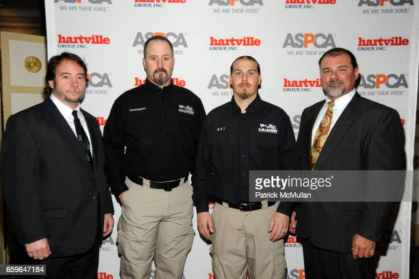 Jeffrey Heath Kyle Held Tim Rickey and Terry Mills attend The 2009 ASPCA Humane Awards Luncheon at The Pierre on October 29 2009 in New York City