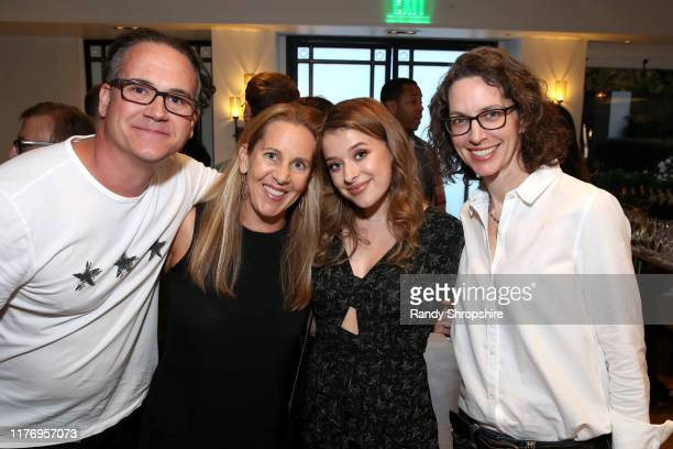 "Jeffrey Hunt Tia Maggini Addison Holley and Michelle Paradise attend a special screening of ""Trapped The Alex Cooper Story"" hosted by Lifetime in..."
