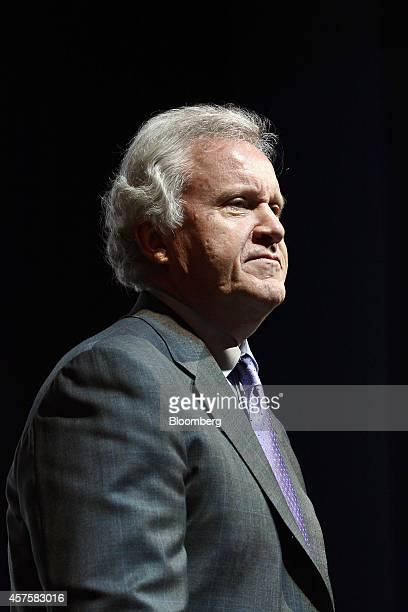 Jeffrey 'Jeff' Immelt chairman and chief executive officer of General Electric Co attends the opening of the company's iCenter facility in Kuala...