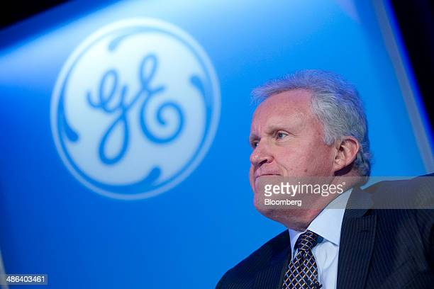 Jeffrey 'Jeff' Immelt chairman and chief executive officer of General Electric Co speaks during a panel discussion at the Bloomberg Link Energy 2020...