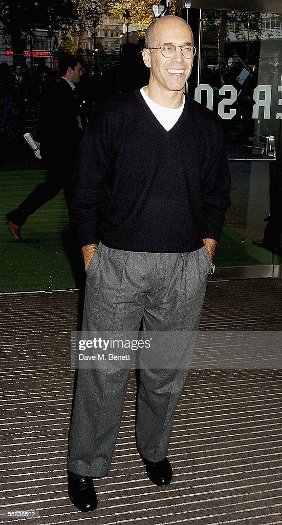 Jeffrey Katzenberg arrives at the UK Charity premiere of animated film 'Wallace & Gromit: The Curse Of The Were-Rabbit' at the Odeon West End on October 2, 2005 in London, England. The premiere is in aid of Wallace & Gromit Children's Foundation.