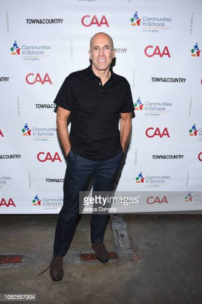 Jeffrey Katzenberg attends attend Communities In Schools LA Lunch With a Leader on October 19 2018 in West Hollywood California