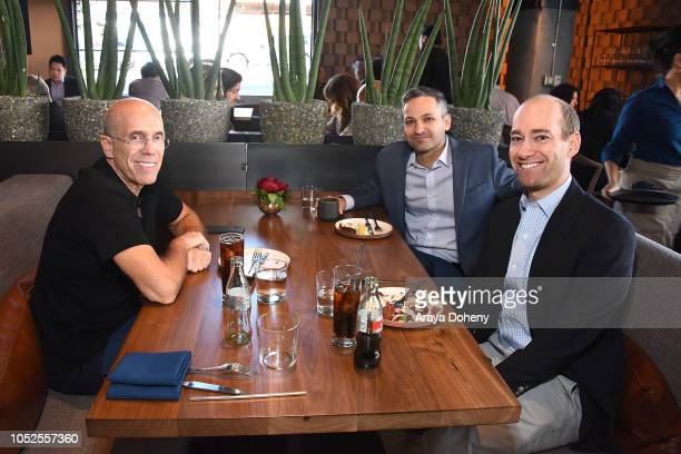 Jeffrey Katzenberg attends Communities In Schools LA 'Lunch With a Leader' on October 19 2018 in West Hollywood California