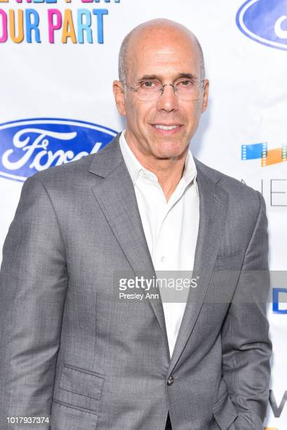 Jeffrey Katzenberg attends MPTF's Annual NextGen Summer Party at Paramount Pictures on August 16 2018 in Los Angeles California