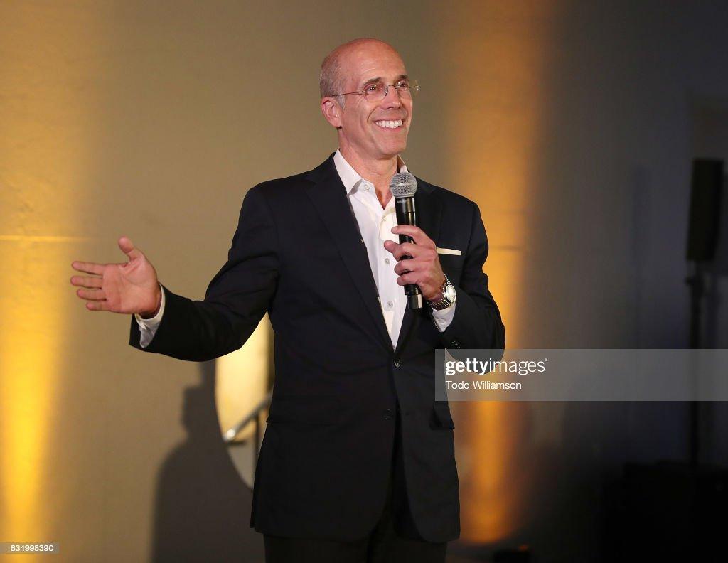 Jeffrey Katzenberg attends MPTF's NextGen Summer Party at NeueHouse Hollywood on August 17, 2017 in Los Angeles, California.