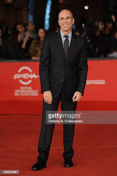 Jeffrey Katzenberg attends 'Rise Of The Guardians' Premiere during The 7th Rome Film Festival on November 13 2012 in Rome Italy
