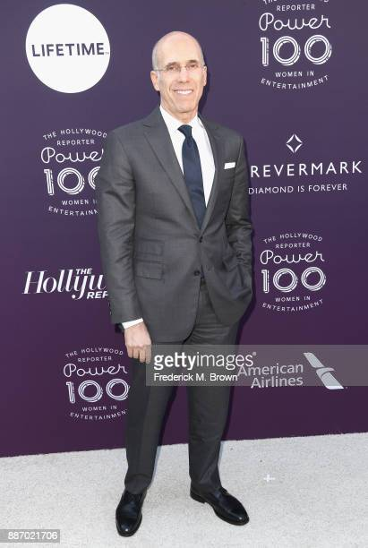 Jeffrey Katzenberg attends The Hollywood Reporter's 2017 Women In Entertainment Breakfast at Milk Studios on December 6 2017 in Los Angeles California