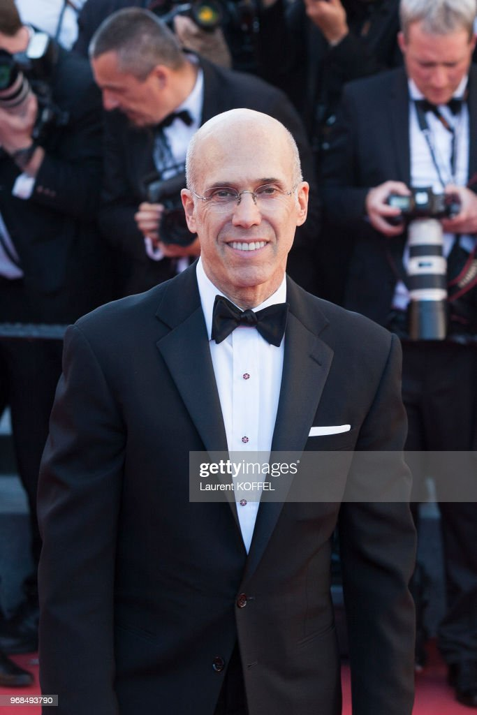 Jeffrey Katzenberg attends the 'Okja' screening during the 70th annual Cannes Film Festival at Palais des Festivals on May 19, 2017 in Cannes, France.