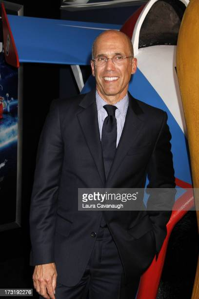 Jeffrey Katzenberg attends the Turbo premiere at AMC Loews Lincoln Square on July 9 2013 in New York City
