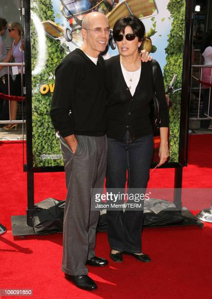 Jeffrey Katzenberg during Dreamworks' Over The Hedge Los Angeles Premiere Arrivals at Mann Village Theatre in Westwood California United States