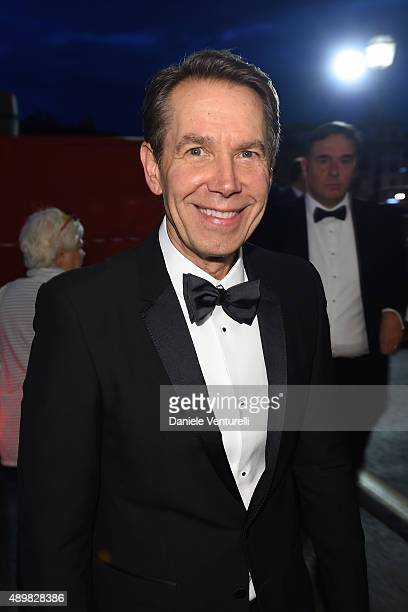 Jeffrey Koons attends BIAF Opening Gala Dinner at Palazzo Corsini on September 24 2015 in Florence Italy