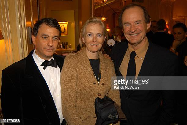 Jeffrey Leeds Jennifer Maguire and David Boies attend A Celebration of Mike Wallace's New Book Between You and Me at Arabelle on October 25 2005 in...